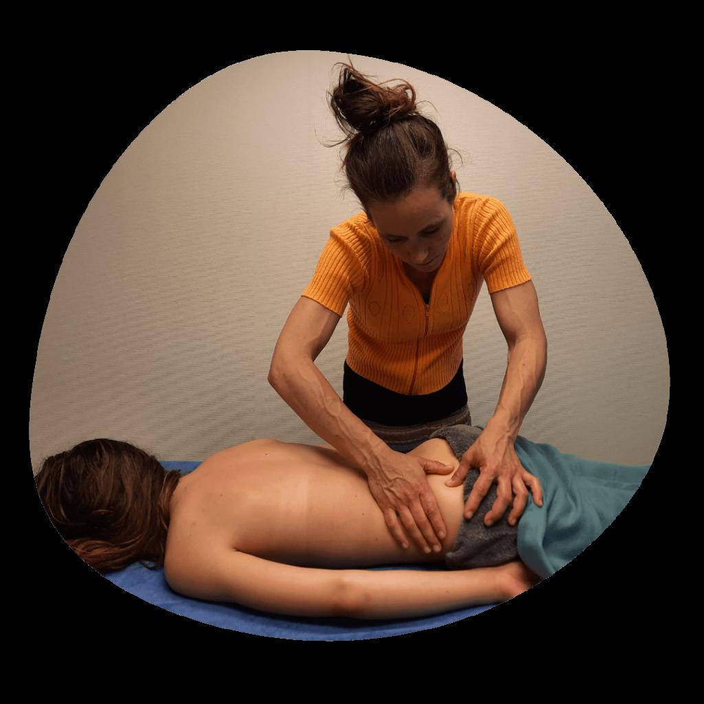 Praktijk Wiesje, Massages